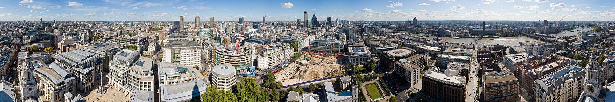 צילום פנורמי של לונדון - מושיק טיסונה